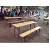 Прокат столів і лавок для масових заходів
